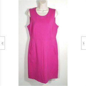 LANDS' END Sheath Dress Pockets 3882E1M